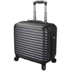 Juescha Trolley Case with Detachable Business Case Nylon with TSA Lock Black 45508