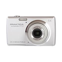 Praktica 20-Z50 Digital Camera Kit Silver Ref PRA093