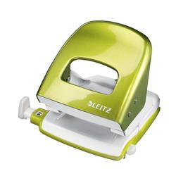 Leitz NeXXt WOW Hole Punch 3mm 30 Sheet Green Ref 50081064L + Win Ascaso Espresso Machine