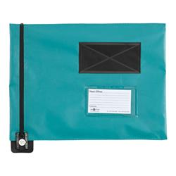 Mail Pouch A3 Flat 355 x 470mm Green FP9G