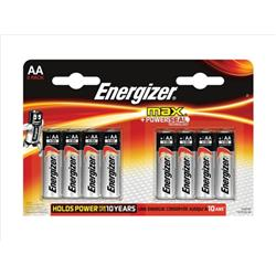 Energizer Max AA/E91 Batteries Ref E300112400 (Pack 8)
