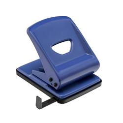 5 Star Office Punch Metal 2-Hole Capacity 40x 80gsm Blue