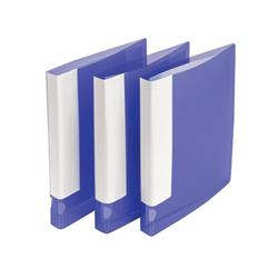 5 Star Office Ring Binder 2 O-Ring Polypropylene A4 Purple [Pack 10]