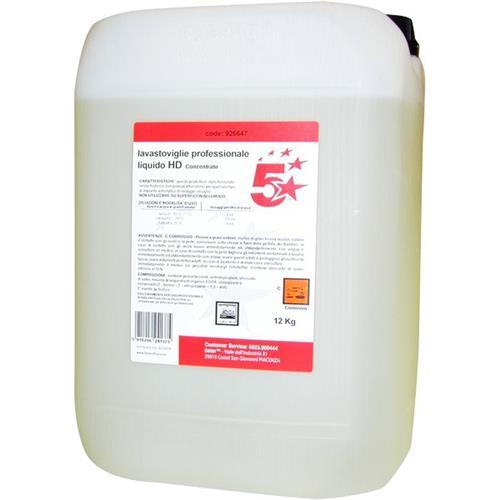 Foto Lavastoviglie professionale liquido HD 5 Star - 12 kg Detersivi per piatti