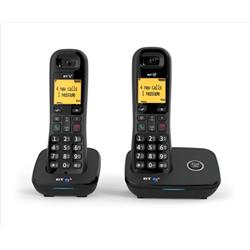 BT 1200 Dect Telephone Nuisance-call Blocking Twin Ref 57397