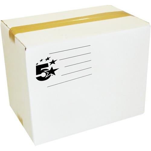 Foto Scatole americane 5 Star - 40x40x40 cm - bianco - 2 onde - conf. 20 Scatole imballo