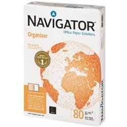 Navigator Organizer A4 Paper 80gsm Punched 2 Holes White Ref 127562 (500 Sheets)