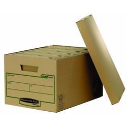 Foto Scatola archivio Bankers Box Fellowes - 33,5x47x27,1 cm - conf. 10 Scatole archivio