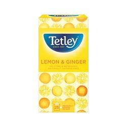 Tetley Tea Bags Green Tea with Lemon/Ginger Ref 1579a (Pack 25)