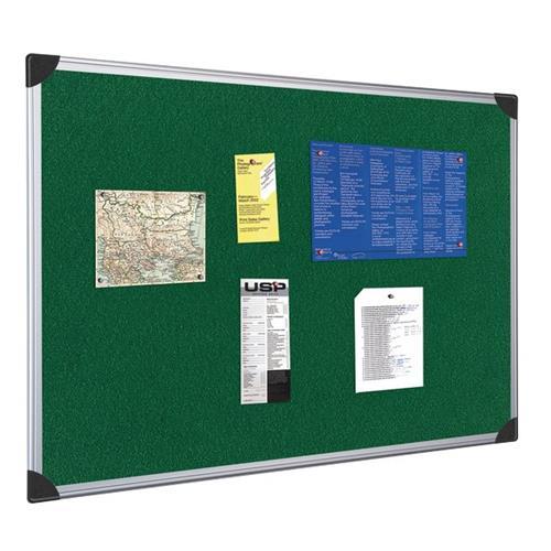 Foto Pannello in tessuto 5 Star verde 90x120 cm 397808 Bacheche e pannelli