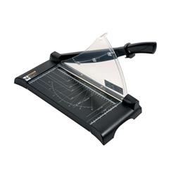 5 Star Office Paper Guillotine Cutter II 10 Sheet Capacity A4 Table size 245x335x10mm Silver/Black