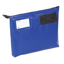 Mail Pouch A4 Plus Gusset 381 x 336 x 76mm Blue Ref GP1B
