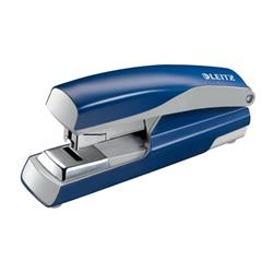 Leitz NeXXt Stapler 4mm Flat Clinch Blue Ref 55230035L