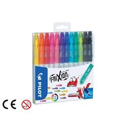 Pilot FriXion Erasable Felt Pen Assorted Ref 220300120 (Pack 12)