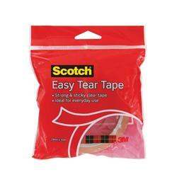 Scotch Easy Tear Tape 19mm x 30m Ref ET1930