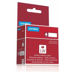 Dymo Lumberjack Holiday Labels 28x89mm Ref 1960101