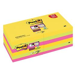 Post-it Z-notes Rio Ref R330-SSRIO-P9+3 [Pack 12]