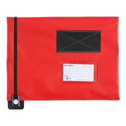 Mail Pouch A4 Flat 285mm x 345mm Red Ref FP7R