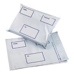 5 Star Elite DX Bags Self Seal Waterproof White 475x440mm [Pack 100]