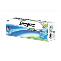 Energizer Eco Advance Batteries AA / E91 Ref E300487800 (Pack 20)