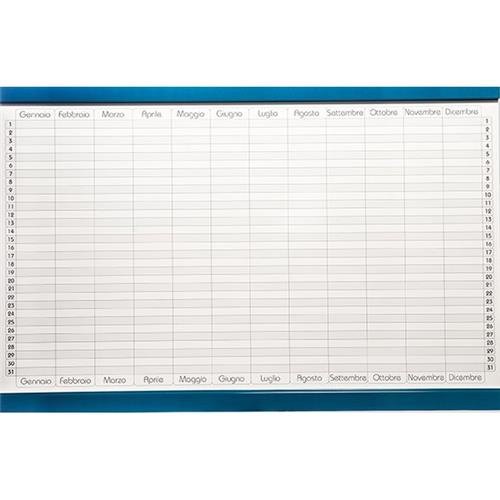 Foto Planning magnetico 5 Star annuale 90x60 cm