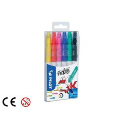 Pilot Frixion Erasable Felt Pen Assorted Ref 220300600 (Pack 6)