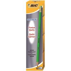Bic Criterium Pencil Graphite HB with Eraser [Pack 12]