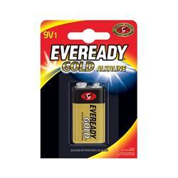 Eveready Gold Alkaline Battery 9V/6LR61 Ref 638407