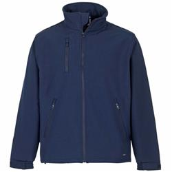 Supertouch Verno Soft Shell Jacket Breathable and Shower Proof Medium Navy Ref 58392