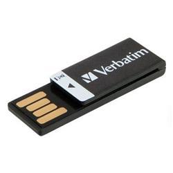 Verbatim Clip-It Flash Drive USB 16GB Black Ref 43951