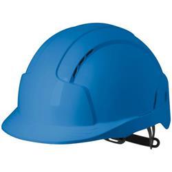 JSP EVOLite CR2 Safety Helmet ABS 6-point Terylene Harness EN397 Standard Blue Ref AJB160-000-500