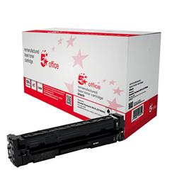 5 Star Office Compatible Laser Toner Cartridge Page Life 1500pp Black [HP No. 201A CF400A Alternative]