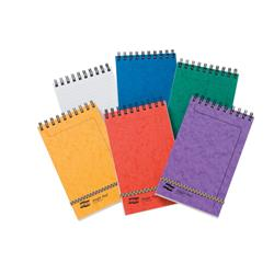 Europa Pad Twinwire Headbound Ruled 90gsm 300pp 207x127mm Assorted Ref 4880Z [Pack 10]
