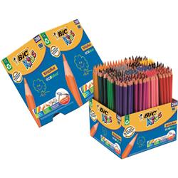 Bic Kids Evolution Colouring Pencils Wood-free Resin Up to 24 Vibrant Colours Ref 907901 [Pack 288]