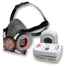 JSP Force8 Half Mask Twin Cartridge 4-point Harness ABEK1P3 Ref BHT0C3-0L5-N00