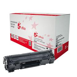 5 Star Office Remanufactured Laser Toner Cartridge Page Life 1500 Black [HP No. 83A CF283A Alternative]