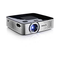 Philips PicoPix Pocket Projector Multimedia 170 Lumens Integrated 1W Speakers Black/Silver Ref PPX3417