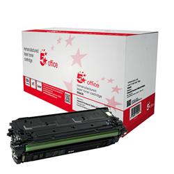 5 Star Office Remanufactured Laser Toner Cartridge 6000pp Black [HP No. 508A CF360A Alternative]