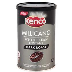 Kenco Millicano Coffee Wholebean Instant Dark Roast 100g Ref 668980