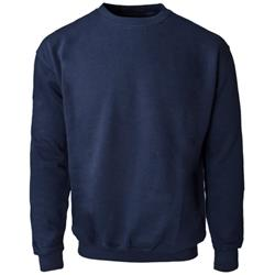 Supertouch Sweatshirt Polyester/Cotton Fabric with Crew Neck Large Navy Ref 56693