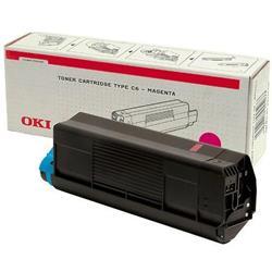 Oki C5200 Magenta Toner C5400