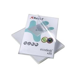 Rexel Eco-Filing Folder Cut Flush Recycled Polypropylene Anti-glare Finish A4 Ref 2102243 [Pack 25] - 2 for 1
