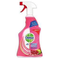 Dettol Power Fresh Pomegranate Antibacterial Multi Purpose Cleaner Trigger Spray 1 Litre Ref 3007938 - 2 for 1