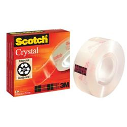 Scotch Crystal Tape 19mmx66m Ref 6001966