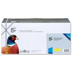 5 Star Office Remanufactured Laser Toner Cartridge 1800pp Yellow [HP No. 131A CF212A Alternative]