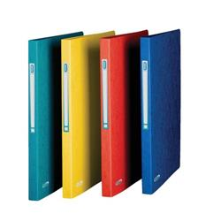 Elba Eurofolio Ring Binder Pressboard 2 O-Ring Size 25mm A4 Blue Ref 100201469 [Pack 10]