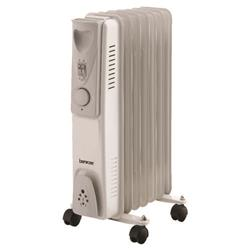 Image of 1.5kW Oil-Filled Radiator White CRHOFSL7/H - 42690
