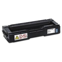 Ricoh Cyan Toner Cartridge High Capacity (Yield 6,000 Pages) for SPC312 Colour Laser Printer