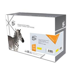 5 Star Office Remanufactured Laser Toner Cartridge Page Life 5000pp Yellow [Kyocera TK-590Y Alternative]