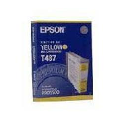 Epson Inkjet Cartridge Yellow [for Stylus color Pro 5000 5500] Ref C13T487011